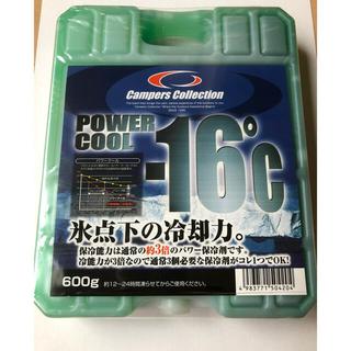 ヤマゼン(山善)のキャンパーズコレクション 保冷剤 パワークール-16度 600g(その他)