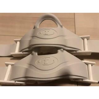 ツサ(TUSA)の未使用☆TUSA フィン ストラップ バックル付 2個セット 白色 ダイビング(マリン/スイミング)