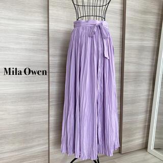 ミラオーウェン(Mila Owen)のMila Owen  ミラオーウェン マキシ丈スカート プリーツスカート(ロングスカート)