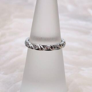 CHAUMET - ★CHAUMET★ トルサード マリッジリング 結婚指輪 ダイヤ付 PT950