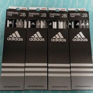 アディダス(adidas)の【新品・未開封】三菱鉛筆アディダス  かきかた鉛筆 2B12本×4セット(鉛筆)