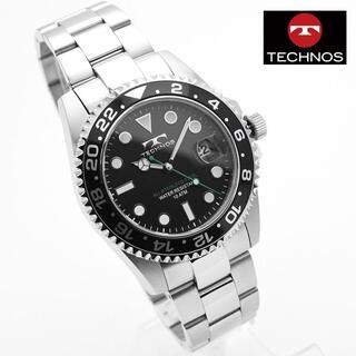 テクノス(TECHNOS)のテクノス 腕時計 メンズ TSM412SB ブランド 時計 ステンレス(腕時計(アナログ))