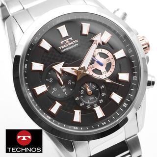 テクノス(TECHNOS)のテクノス 腕時計 メンズ TSM616SB クロノグラフ ブランド ウォッチ(腕時計(アナログ))