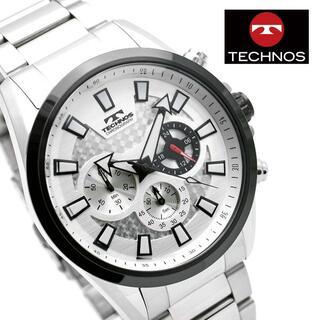 テクノス(TECHNOS)のテクノス 腕時計 メンズ TSM616TS クロノグラフ ブランド 時計(腕時計(アナログ))