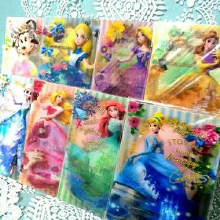 ディズニー(Disney)の【3】プリンセス♥️ドレスシアター♥️3Dポストカード(カード)