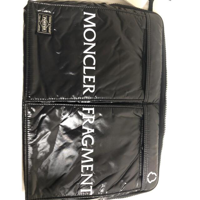 MONCLER(モンクレール)の【限定コラボ】moncler fragment porter 藤原ヒロシ メンズのファッション小物(その他)の商品写真