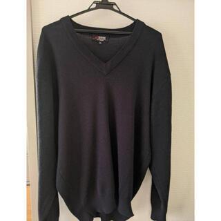 アイトス(AITOZ)のAITOS Vネックセーター 学生用セーター XLサイズ (LL)(ニット/セーター)