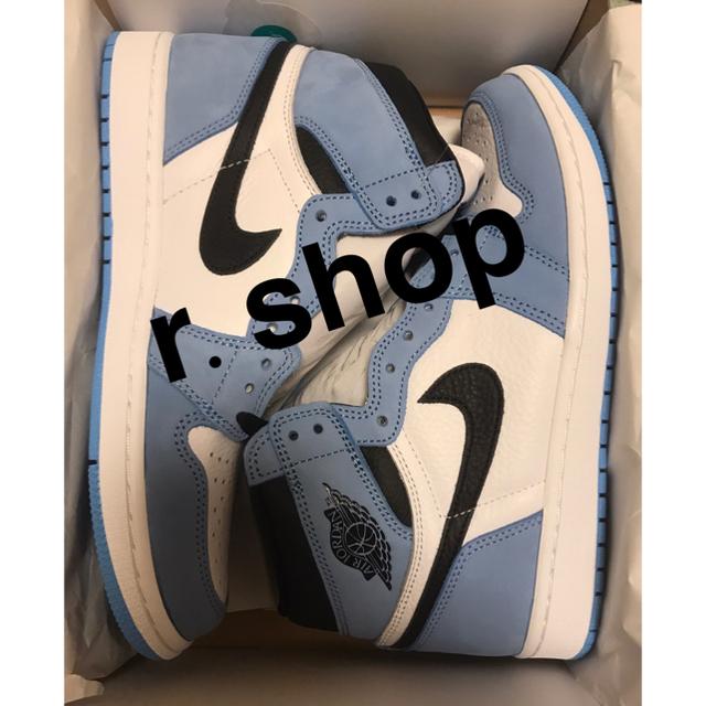 NIKE(ナイキ)のAIR JORDAN 1 HIGH OG  UNIVERSITY BLUE メンズの靴/シューズ(スニーカー)の商品写真
