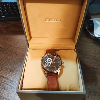 セイコー(SEIKO)のSEIKO セイコー 自巻腕時計 メンズ ブラウン 革(腕時計(アナログ))
