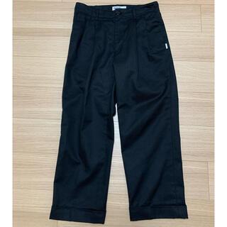 フラグメント(FRAGMENT)のSEQUEL TWO TUCK PANTS size M シークエル BLACK(チノパン)