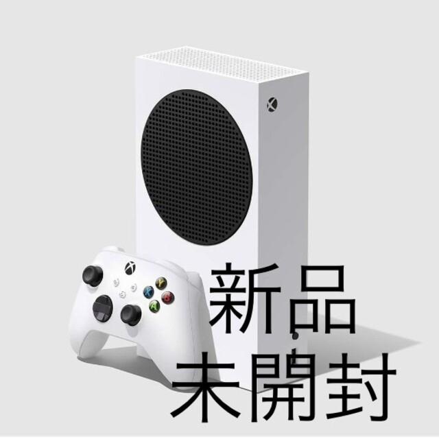 Xbox(エックスボックス)の【新品/未開封】【保証有】【送料無料】Xbox Series S     エンタメ/ホビーのゲームソフト/ゲーム機本体(家庭用ゲーム機本体)の商品写真