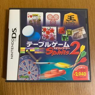 ニンテンドーDS(ニンテンドーDS)のテーブルゲームスピリッツ2 DS(携帯用ゲームソフト)