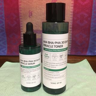 AHA  BHA 30 DAYS  トナー化粧水 セラム美容液(化粧水/ローション)
