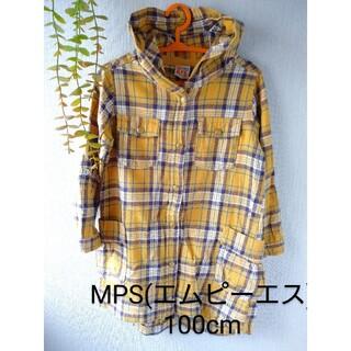 MPS - 【美品】エムピーエス(MPS) キッズ用シャツ 100サイズ