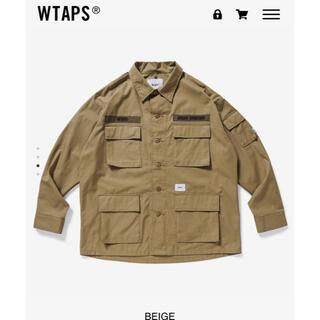 W)taps - WTAPS 21SS JUNGLE 02 LS サイズXL BEIGE 新品
