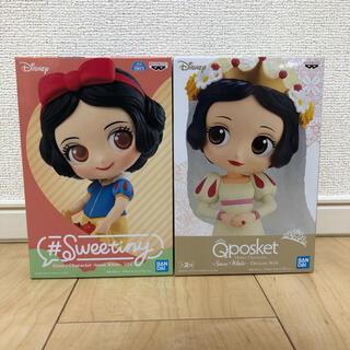 ディズニー(Disney)の白雪姫 qposket sweetiny 2体セット フィギュア(アニメ/ゲーム)