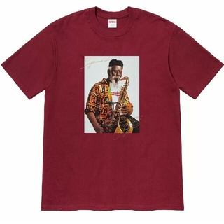 シュプリーム(Supreme)のSupreme Pharoah Sanders Tee Cardinal(Tシャツ/カットソー(半袖/袖なし))