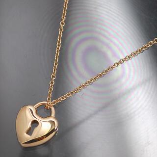 ティファニー(Tiffany & Co.)のK18PG★ティファニー★ハートロックネックレス(ネックレス)