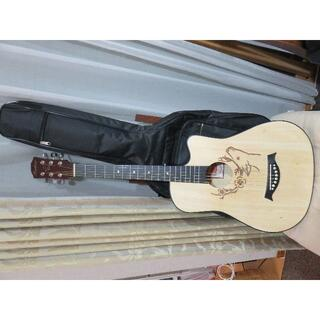 ゆゆゆ様 専用!(ギター本体と ギターケースと 練習用ピック3個とガード)(アコースティックギター)