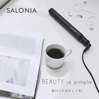 SALONIA ヘアアイロン 32mm(ヘアアイロン)