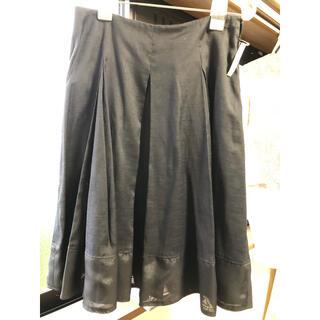 エムプルミエ(M-premier)のm-premierBLACKスカート(ひざ丈スカート)