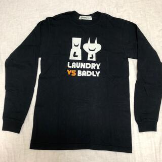 ランドリー(LAUNDRY)のランドリー Laundry 長袖Tシャツ 黒 Sサイズ(Tシャツ(長袖/七分))