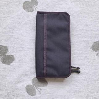 ムジルシリョウヒン(MUJI (無印良品))の無印 パスポートケース 通帳ケース(旅行用品)