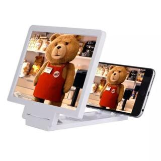スマホ タブレット 画面 拡大 レンズ 動画に最適 迫力の大画面(プロジェクター)