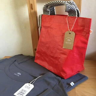 pual ce cin - ecoバッグ♡ コットンTシャツ付き 新品未使用♡