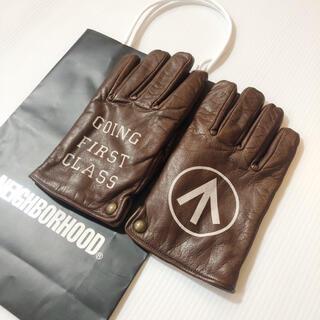 NEIGHBORHOOD - ルーカー ネイバーフッド 手袋 グローブ シャツ ジャケット レザー バイカー