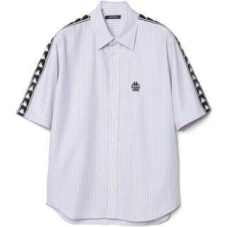 クリスチャンダダ(CHRISTIAN DADA)のCHRISTIAN DADA × kappa 19ss ストライプ半袖シャツ(Tシャツ/カットソー(半袖/袖なし))