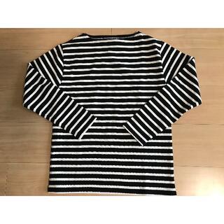 セントジェームス(SAINT JAMES)のSAINT JAMES ウェッソン ブラック×ホワイト(Tシャツ(長袖/七分))