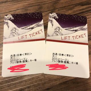 アルツ磐梯/猫魔スキー場チケット(ウィンタースポーツ)
