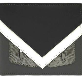 フェンディ(FENDI)の新品 FENDI バグズアイ 二つ折り財布 モンスター(折り財布)