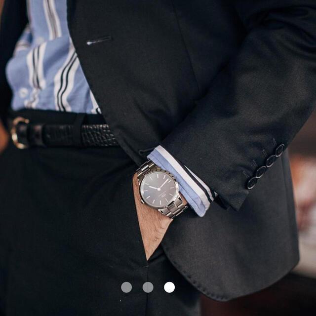 Daniel Wellington(ダニエルウェリントン)の値下げDANIEL WELLINGTON ICONIC LINK 40mm メンズの時計(腕時計(アナログ))の商品写真