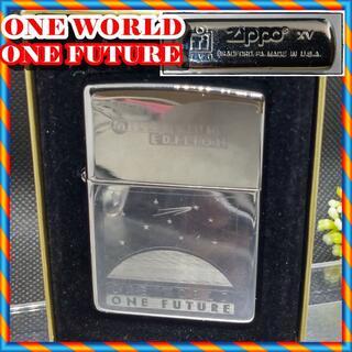 ジッポー(ZIPPO)の№411 ZIPPO ONE WORLD ONE FUTURE ジッポー(タバコグッズ)