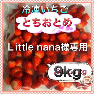 冷凍とちおとめ 9kg Little nana様専用(フルーツ)