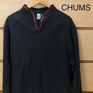 チャムス(CHUMS)の【冬物セット割】チャムス CHUMS スウェット チロリアンカラートップ S(スウェット)