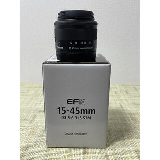 Canon - Canon EF-M15-45mm F3.5-6.3 IS STM ブラック