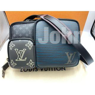 LOUIS VUITTON - 【極美品】ルイヴィトン メッセンジャー マルチポケット M45457