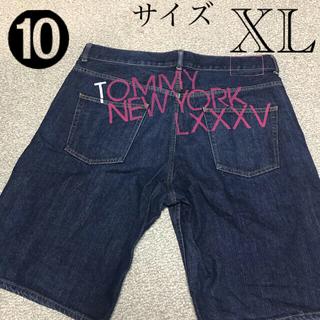 トミー(TOMMY)のtommyメンズハーフパンツ XL 美品(デニム/ジーンズ)
