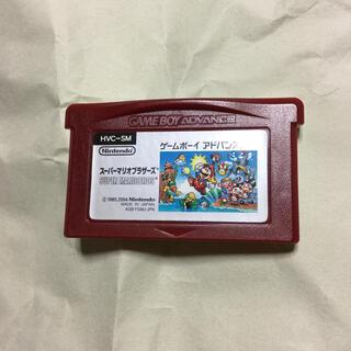 ゲームボーイアドバンス(ゲームボーイアドバンス)のGBAソフトのみ スーパーマリオブラザーズ(携帯用ゲームソフト)