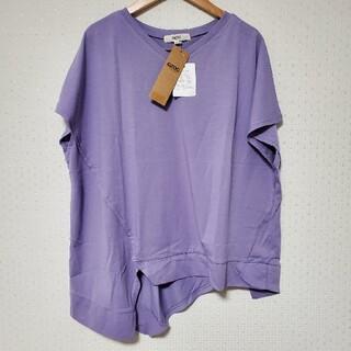 オゾック(OZOC)の【OZOC】 コットン混アシメ切替プルオーバー(Tシャツ(半袖/袖なし))