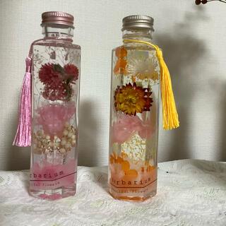 【セニョールモモ様専用】no.006 ピンクのカーネーション&オレンジ2本セット(その他)