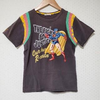 ラフ(rough)の【rough】 パッチワーク スーパーマン Tシャツ(Tシャツ(半袖/袖なし))