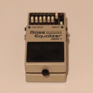 ボス(BOSS)のBOSS GEB-7 ベース用EQ(ベースエフェクター)
