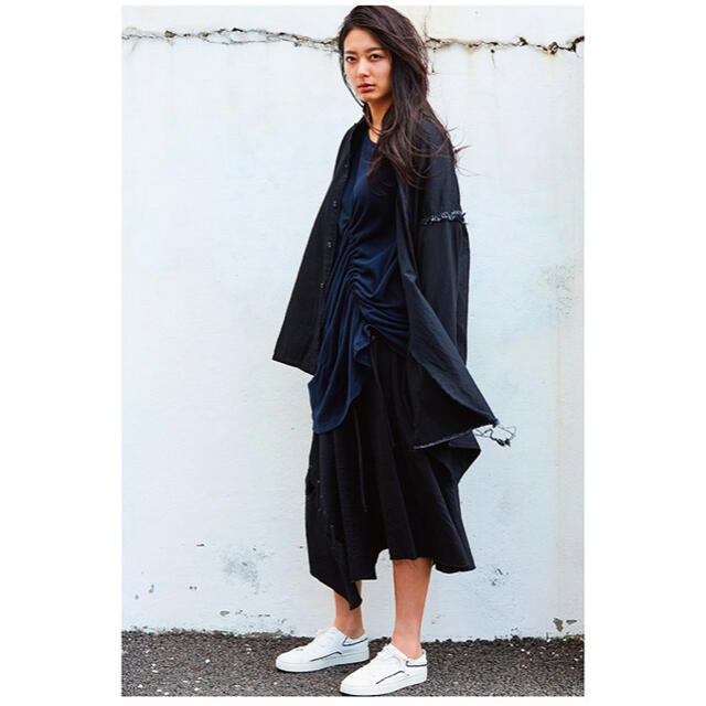 Yohji Yamamoto(ヨウジヤマモト)のBヨウジヤマモトキャンバススニーカーラインシューズ靴 レディースの靴/シューズ(スニーカー)の商品写真