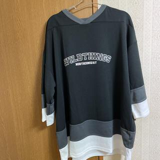ワイルドシングス(WILDTHINGS)のワイルドシングス オーバーサイズTシャツ(Tシャツ/カットソー(七分/長袖))