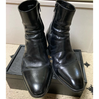 Saint Laurent - SAINT LAURENT PARIS サイドジップ ブーツ 41.5