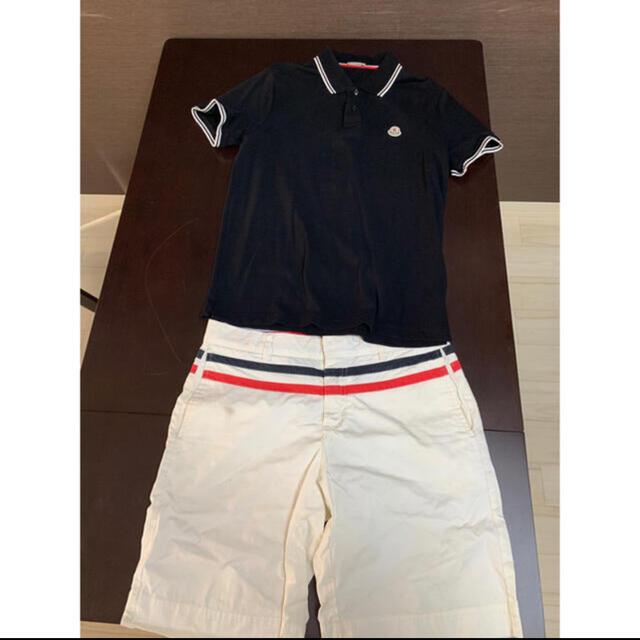 MONCLER(モンクレール)のGW特別価格モンクレール ポロシャツ ハーフパンツ セット 激安 送料込み メンズのトップス(ポロシャツ)の商品写真